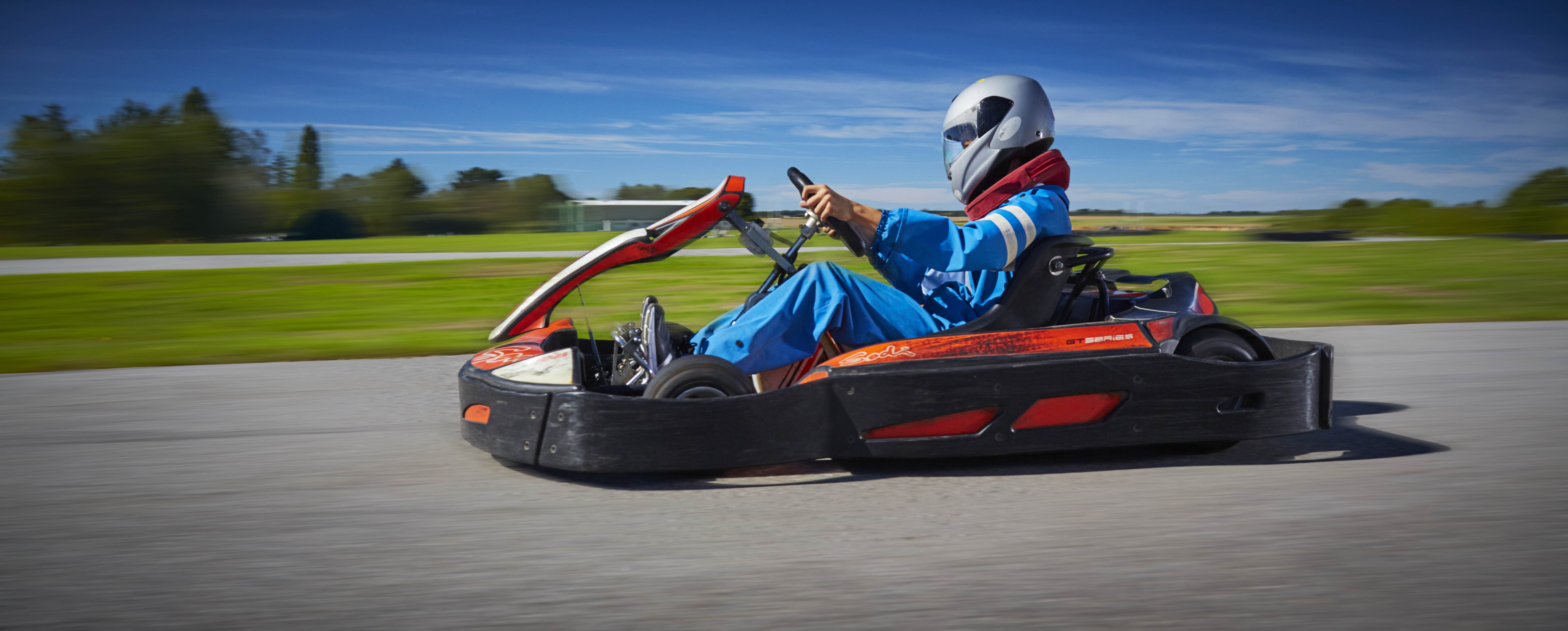 marketing campaign for Gems Education, Go Karting, Sport, Ecole Des Roches
