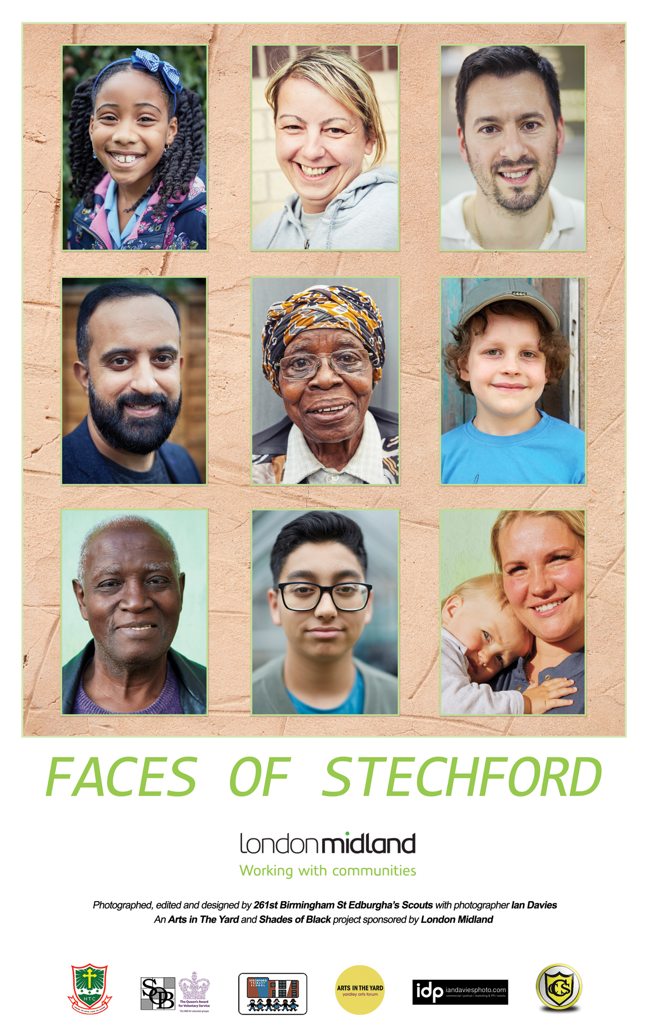 Faces of Stechford, London Midland, idp, ian davies, iandaviesphoto, photographer birmingham, commercial photographer birmingham, portrait photographer birmingham, event photographer birmingham, live event photographer, corporate photographer birmingham, corporate headshots Birmingham